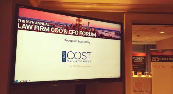 TR COO-CFO 2017 forum reception